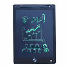 Planche à dessin numérique électronique LCD 12 pouces, tablette graphique pour écriture à la main avec stylo