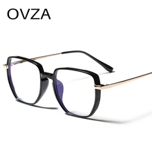 Light-Glasses Anti-Fatigue-Lens Square OVZA Women Fashion S9019