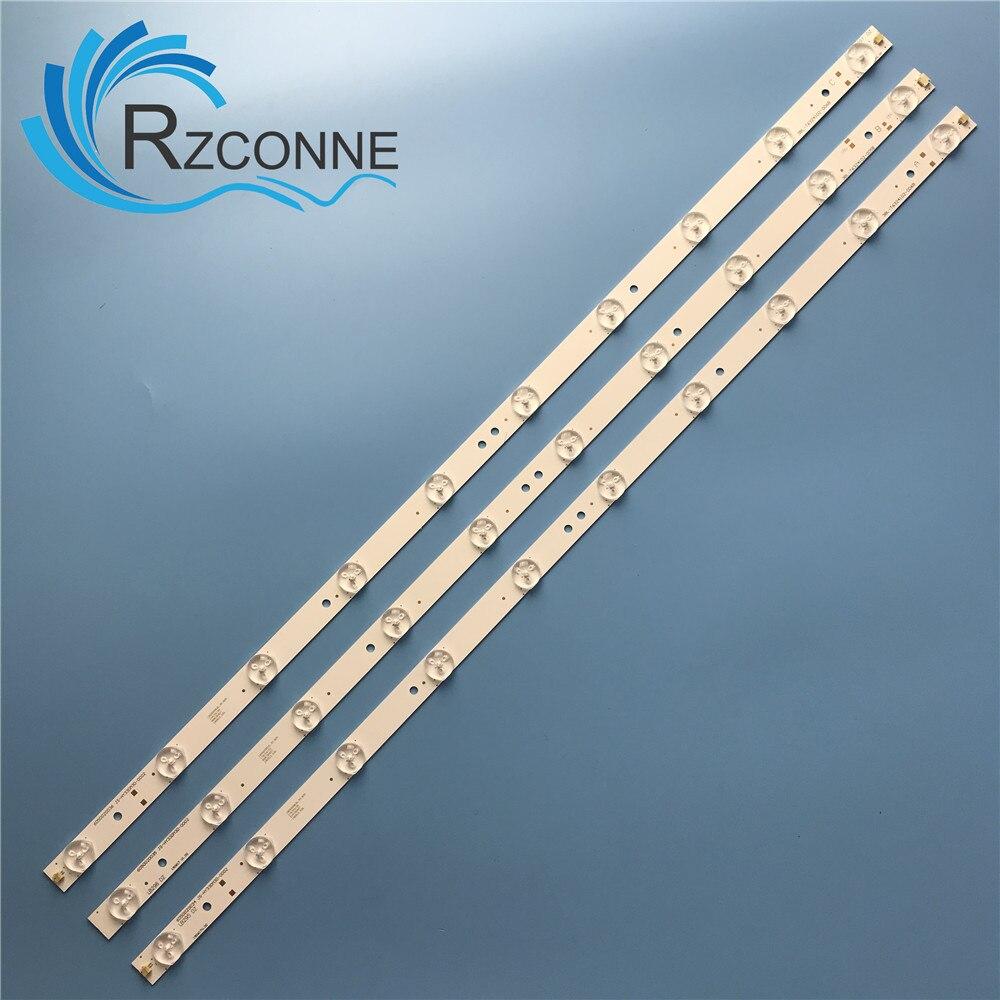 LED Backlight Strip Bar 10 Lamp For Sanyo 32