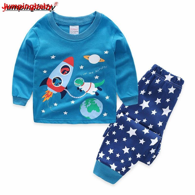 Salopette bébé 2019 garçons pyjamas enfants vêtements Pyjama Enfant Pyjama ensemble bébé garçon chemise de nuit Pijamas Conjunto Infantil Enfant en bas âge Pjs nouveau