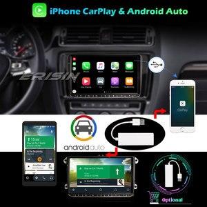 "Image 4 - ERISIN 2728 9 ""Android 10.0 Autoradio pour VW Passat Golf 5/6 Tiguan Jetta Caddy DAB + GPS WIFI 4G Bluetooth DVB T/T2"