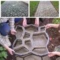 Черный 50*50 бетонная форма для производства брусчатки прочный дорожный камень дорога DIY цемент плесень шаговый