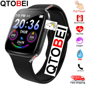 Full Touch Smart Watch Men Women Heart Rate Blood Pressure Monitor Smartwatch Watches Sport Smart Watch For Android IOS IWO 12 недорого