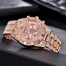 2020 Ice-out Men Watches Gold Top Brand Luxury Diamond Quartz Wrist Watch Man Military Waterproof Auto Date Clock Reloj Hombre mens watches top brand luxury automatic watch men waterproof gold military mechanical wrist watch clock man hours reloj hombre