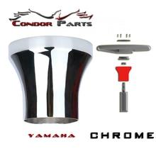 Condor Parts - Golf Cart Steering Wheel Adapter For Yamaha Golf Cart - Chrome
