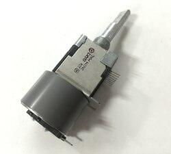 Potenciómetro de motor Original RK168 A20K, longitud de 2 ejes, 30mm, con posicionador de descarga de potencia del motor, 1 Uds.