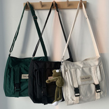 Simple Canvas Bag Waterproof Shopping Bag Tutorial Bag Fashion And Lovely For Young People Shoulder Bag Student Bag