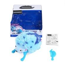 Электронные игрушки для питомцев, интерактивный Ежик с несколькими режимами света и звуков, сенсорные индукционные игрушки