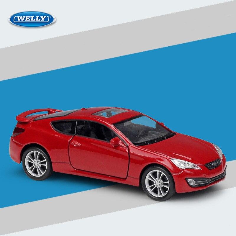 Welly масштаб 1:36 бытие купе спортивные автомобили литые тянущиеся металлические модели автомобиля игрушка хобби мальчиков детские подарки