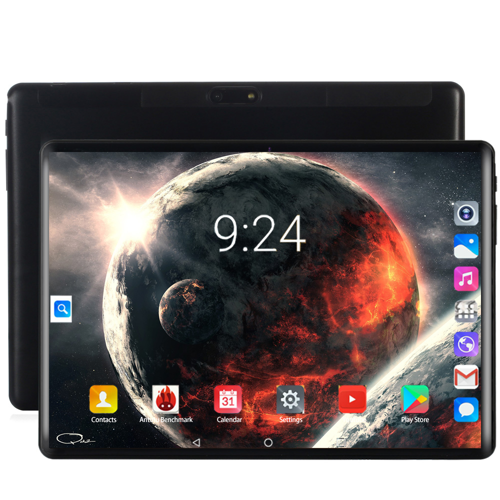 2020 New10.1 Inch Tablet PC 8 Octa Core Android 8.0 WiFi Dual SIM Cards 3G 4G LTE Tablets 10.1 6GB RAM 64GB 128GB ROM 1280X800