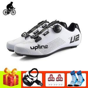 Обувь для езды на велосипеде для мужчин и женщин; sapatilha ciclismo; Велосипедные кроссовки с педалями; Дышащий ультра-светильник; Обувь для езды на ...