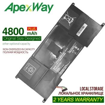 ApexWay 4800 мАч 7,4 V C23-UX21 C23UX21 Аккумулятор для ноутбука Asus Zenbook UX21 UX21A UX21E серия Ultrabook