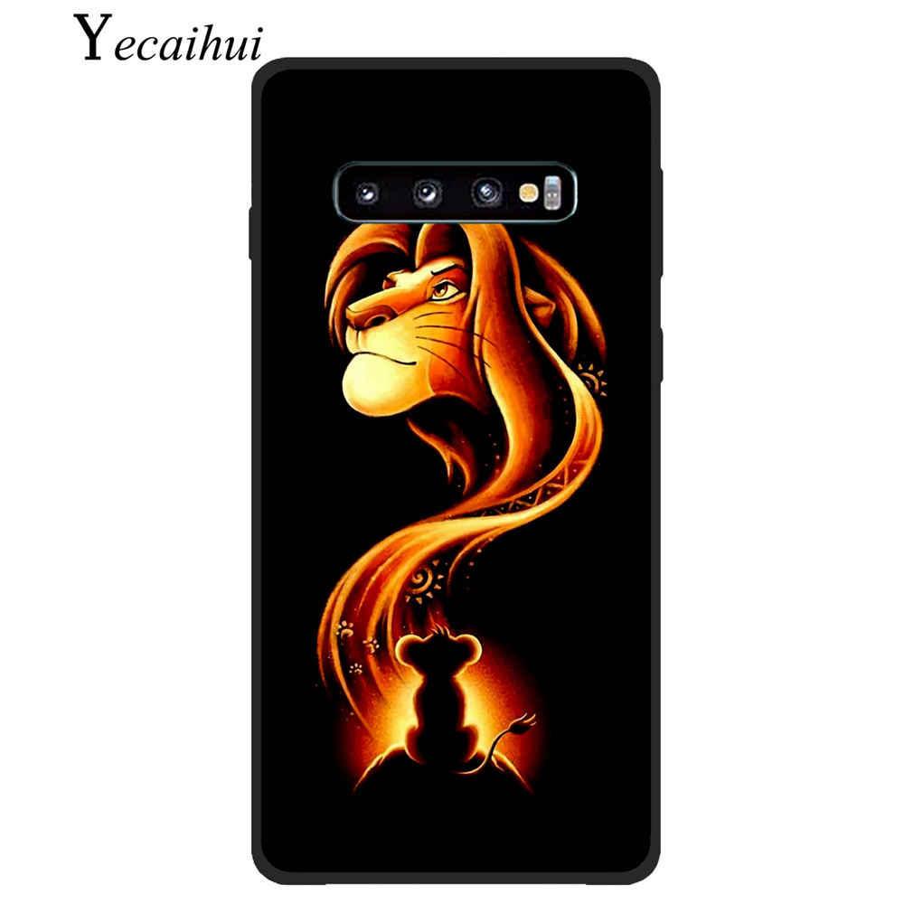 Keren Lion King Pumba Case untuk Samsung Galaxy S10 S9 S8 S7 S6 PLUS Olahraga Telepon Penutup Silikon Lembut Kembali smart Tritone Hakuna Matata