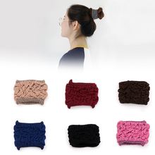 3pcs/lot New Fashion Women Scrunchie Hair Ties Wide Elastic Bands Ropes for Accessories Ponytail Holders