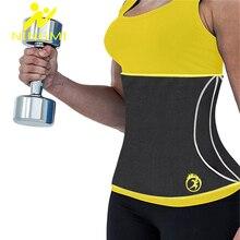 NINGMI Neoprene Waist Trainer Women Body Shaper Tummy Trimmer Girdle Weight Loss Belt Cincher Shapewear Slimming Underwear Strap
