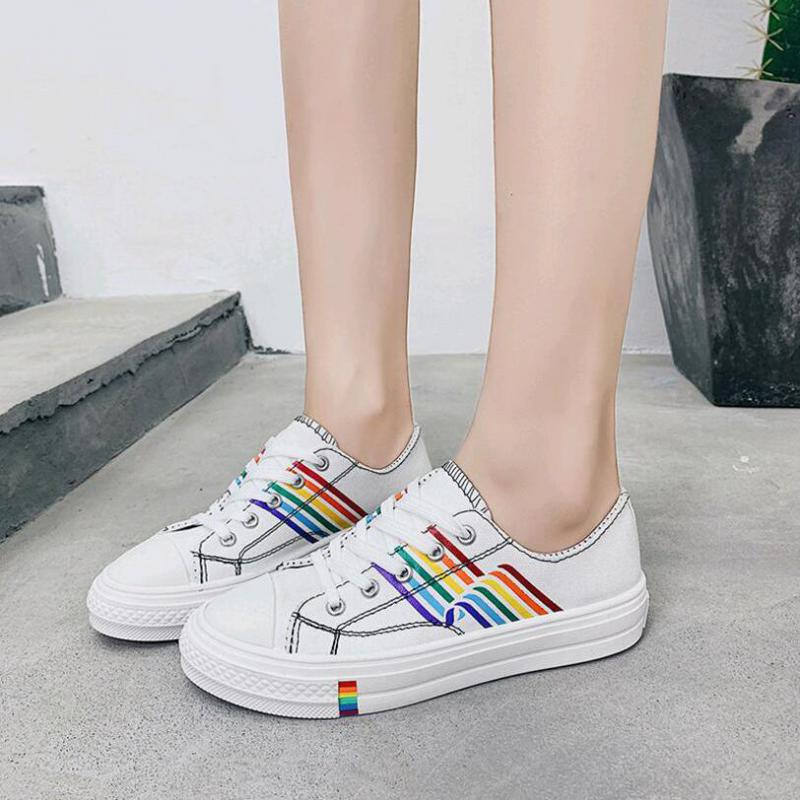 colorized-leisure-canvas-shoes-women-summer-fresh-fashion-joker-low-help-students-trend-comfortable-non-slip-white-sneakers