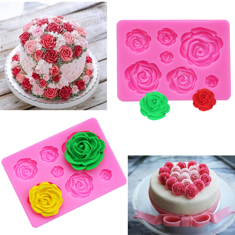 3D Silicone Mold for Baking Mold <font><b>Fondant</b></font> Chocolade <font><b>Cake</b></font> <font><b>Decorating</b></font> <font><b>Tools</b></font> Kitchen Pastry and Bakery <font><b>Accessories</b></font> <font><b>Cake</b></font> <font><b>Tools</b></font> image