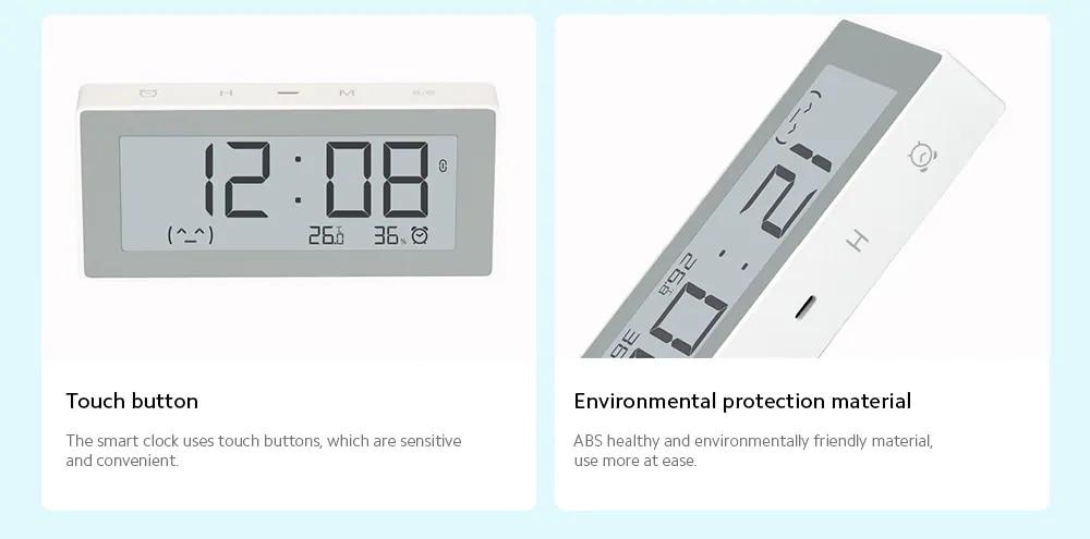 Original MiaoMiaoCe E-Link INK LCD Screen Digital clock Moisture Meter BT4.0 High-Precision Thermometer Temperature Humidity Sensor (10)