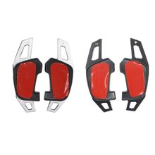 2pcs/set Aluminum Alloy Steering Wheel Shift Paddle Metal Extender For Golf 7