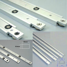 Aluminium alloy T-tracks Slot Miter Track And Miter Bar Slider Table Saw Miter Gauge Rod Woodworking Tools DIY(China)