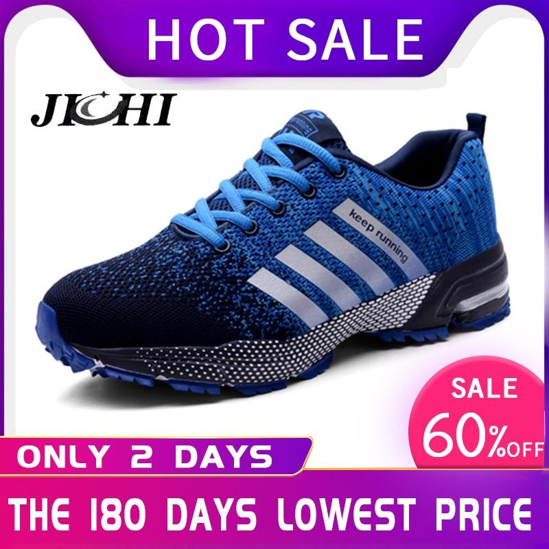 Summer Breathable Men Shoes Casual Shoes Men Fashions Male Mesh Shoes Men Sneakers Big Size Zapatillas Hombre Blue 2019 New