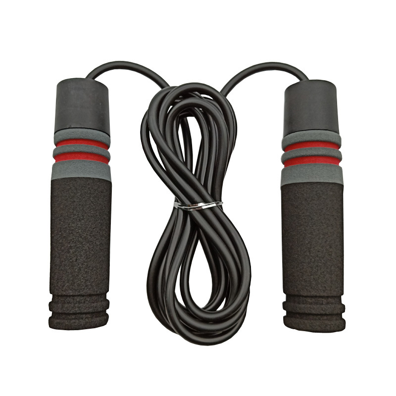 Liang Jian Manufacturers Direct Selling Gym Weight Gifted Jump Rope Bearing ABS Aggravate Handle Fitness Boxed Healthy Beauty La