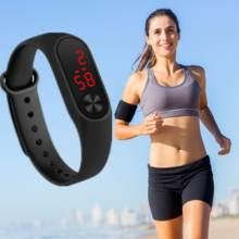 2019 Sports Smart Waterproof Watch New Fashionable Lightweight LED Clock Healthy Movement Women Electrical Watch Relojes