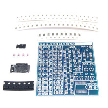 DIY Circuit Board PCB SMT SMD Soldering Practice Board DIY Kit Fanny Skill Training Electronic Suit 77PCS components