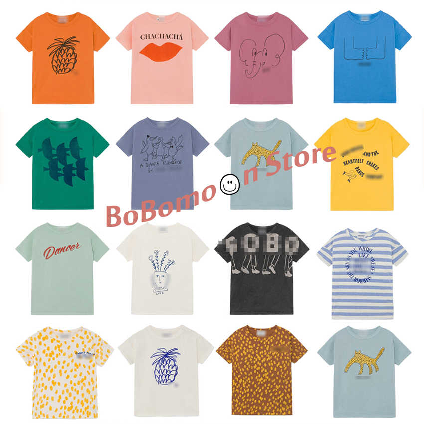 BoBomoon-Bobo Ch*  2020 Baby Girls Christmas Clothing T-shirt for Kids Fashion Beach T-shirt for Boys Thanksgiving Girls Tops