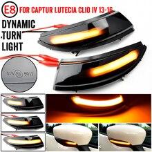 Für Renault Clio IV MK4 Captur J87 Dynamische LED Blinker Licht Seite Flügel Spiegel Anzeige Direkt Ersetzen Original OEM