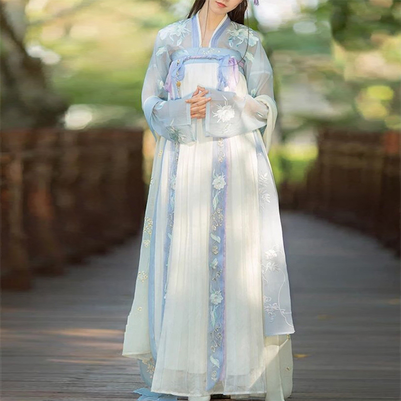 Women Chinese Traditional Costume Female Hanfu Clothing Lady Han Dynasty Princess Clothing Oriental Tang Dynasty Dress Fairy