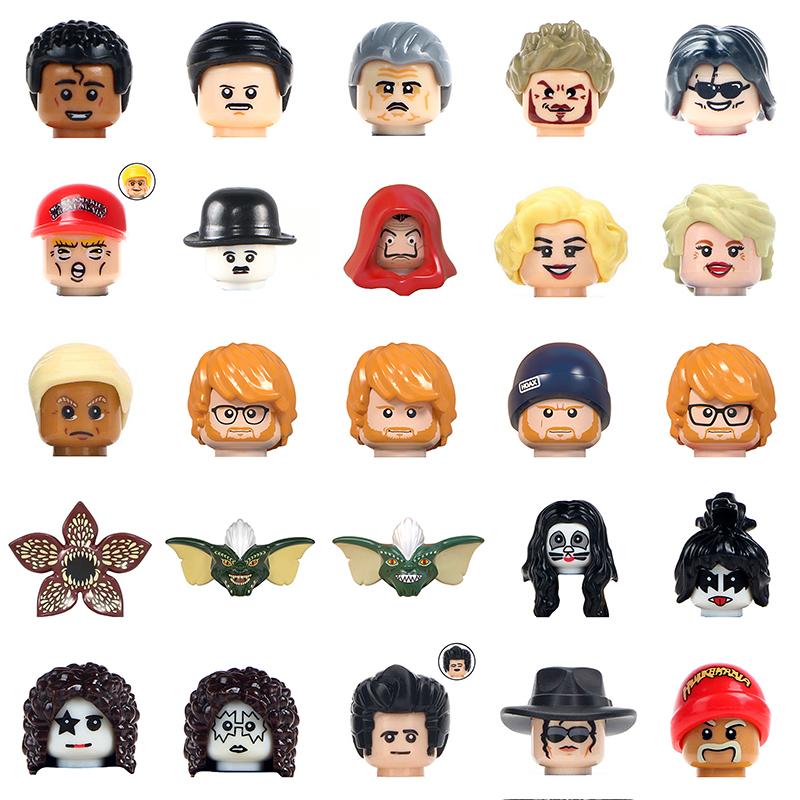 Famous Person Series Ed Sheeran Set Freddie Mercury Action Figures Building Blocks DIY Kids Educational Toys For Children Blocks
