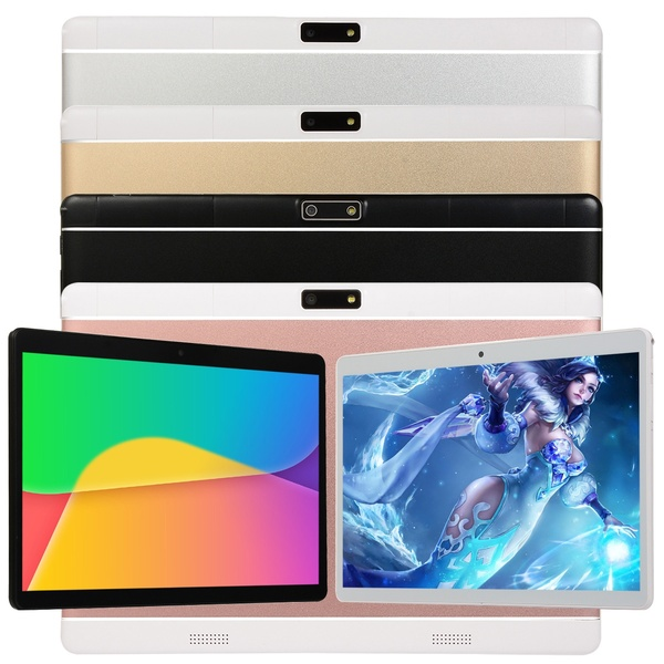 2020 New Original Tablets 10.1 Inch Andoid Tablets With 6G+128GB Tablet Dual SIM Card Phone 4G Call Phone Wifi Tablets PC