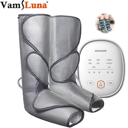 Bein Air Compression Massager Beheizten für Fuß und Kalb Durchblutung mit Handheld Controller 3 Intensitäten 2 Modi 2 Temperaturen