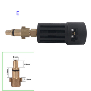 Image 4 - High Pressure Washer Connector Adapter for Connecting AR/Interskol/Lavor/Bosche/Huter/M22 Lance to Karcher Gun Female Bayonet