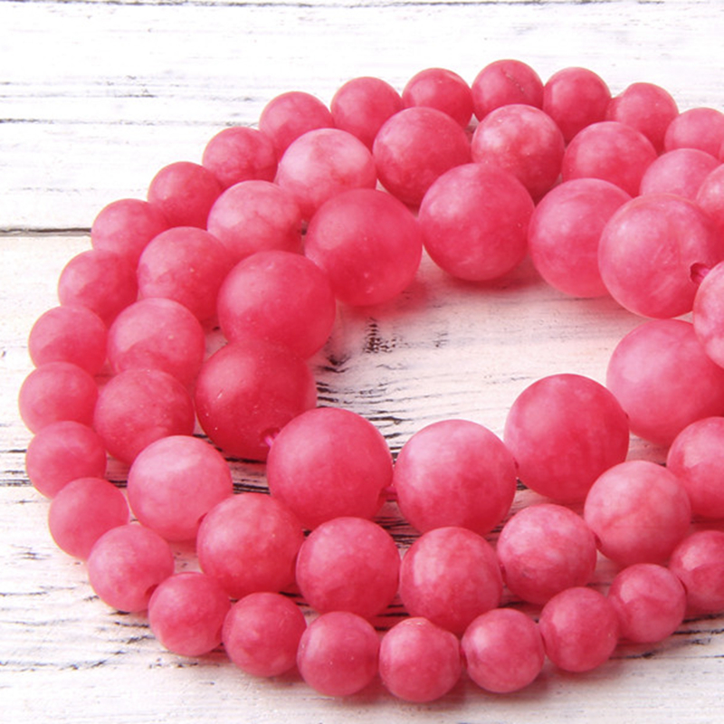 """Fashion Natural Red Striped Agate Round Gemstone Beads 6-12mm Necklace 18/"""" AAA"""