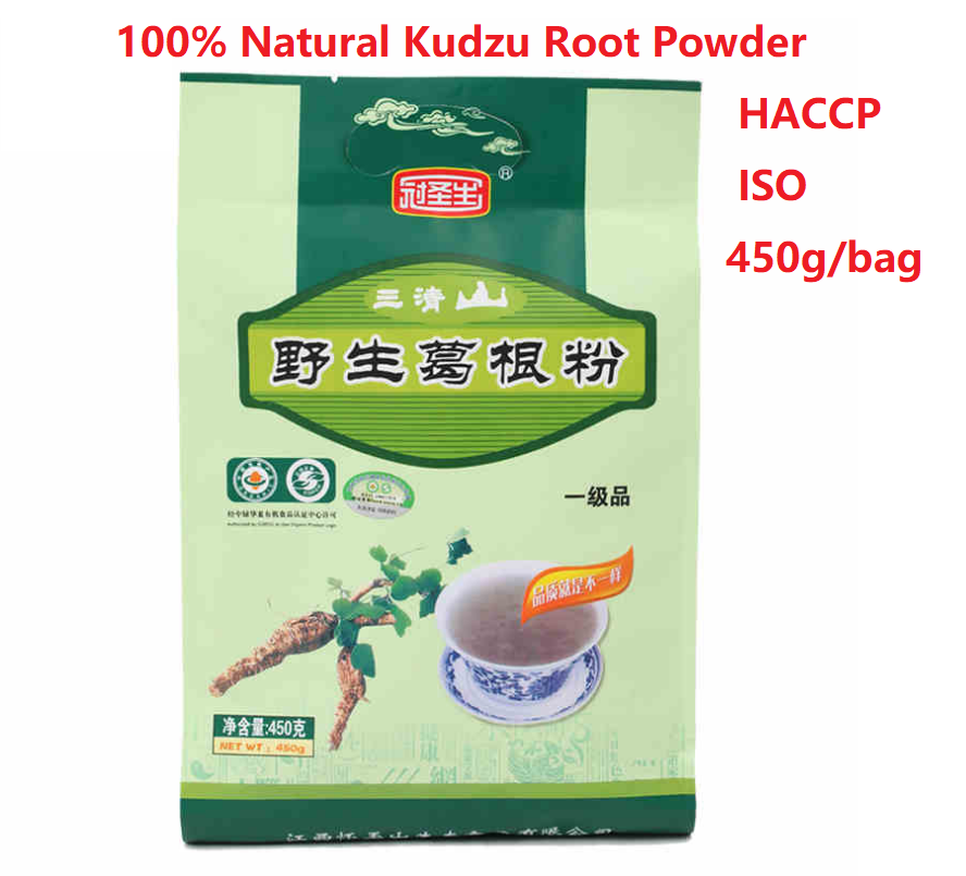 100% Natural Kudzu Root Powder Haccp Iso Certified 450g/bag Pueraria Mirifica Powder Daily SuperFood image