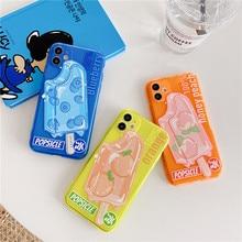 Summer Ice cream Fluorescent Phone Case For iphone