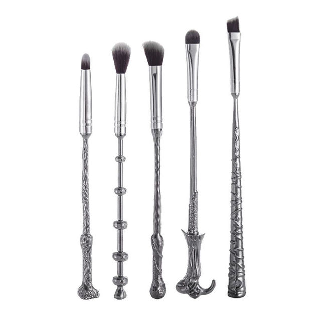 5 Pcs/ Set Makeup Brush Set Wand Eye Shadow Brush Beauty Cosmetics Brush Tool Makeup Set Magical Beauty 1