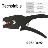 New type Techstable LB-1 Self-Adjusting insulation pliers Wire Stripper range 0.03-10mm2 stripping Cutter Flat Nose FS-D3 700D