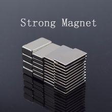 Magnes neodymowy mały blokowy mocny magnes super mocny magnes stały z magnesem trwałym