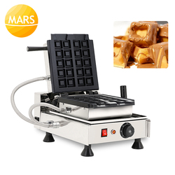 Belgium Waffle Maker Square Waffle Cubes Cake Oven Electric Waffle Biscuit Mold Crispy Waffle Buns Waffo Bites Maker