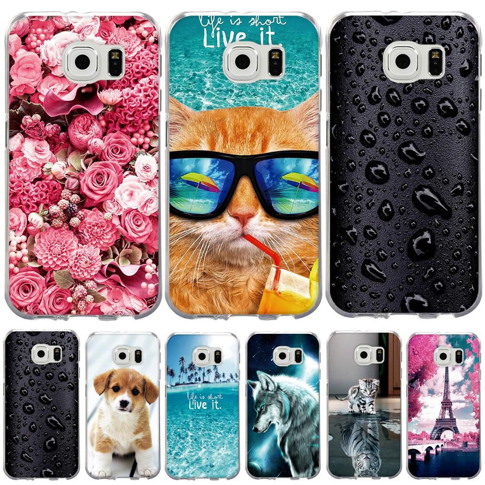 <font><b>Case</b></font> For <font><b>Samsung</b></font> Galaxy <font><b>S7</b></font> <font><b>Case</b></font> Cover for <font><b>Samsung</b></font> Galaxy S5 S6 <font><b>Case</b></font> Silicon Cover for <font><b>Samsung</b></font> <font><b>S7</b></font> S6 G920F S5 i9600 Cover Fundas image