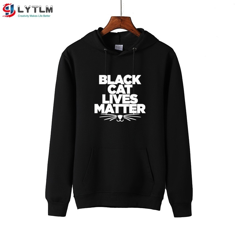 LYTLM Girls Shirts Kids Black Cat Lives Matter Tee Shirt Children Long Sleeve Girl Toddler Girl Tops Terry <font><b>Baby</b></font> <font><b>Tshirts</b></font> <font><b>Animals</b></font> image