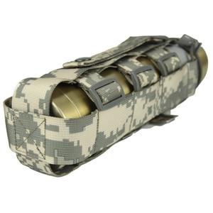 Image 5 - 調節可能な戦術やかんバッグ屋外迷彩水カップカバー多機能戦術的なバッグポータブル水ボトルカバー