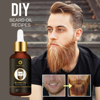 Beard Growth Oil Thickener Beard Essential Oil for Men Beard Growth Enhancer Anti Hair Loss Products for Moustache Grow Beard недорого