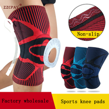Kneepad Protector-Joint-Support Spring Compression-Sleeve Basketball Running Bone 1PCS