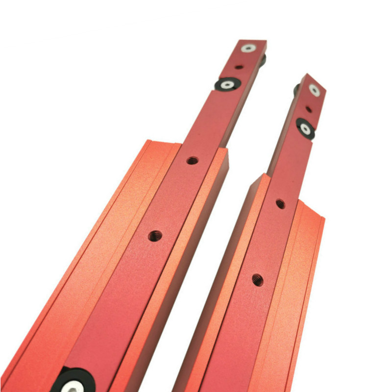 Aluminium Alloy T-track T-slot Miter Track Jig Aluminium Alloy Miter Track Stop Woodworking DIY Tools For Table Saw Pusher