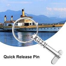 Bimini repuesto de bisagra de cubierta superior para barco, resorte de liberación rápida, anillo de tracción para barco/yate/canoa, Etc., accesorios para barcos marinos