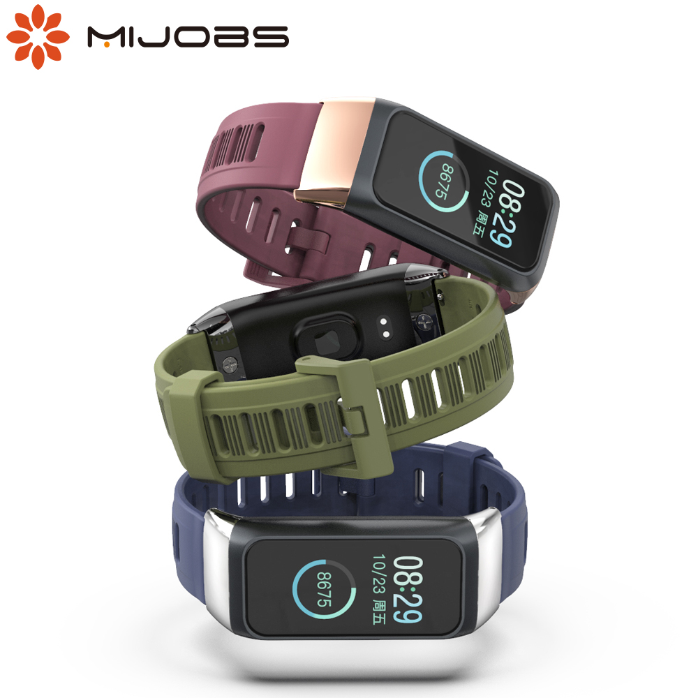 Bracelet for Xiaomi <font><b>Amazfit</b></font> <font><b>Cor</b></font> <font><b>2</b></font> Strap Silicone Wrist Strap for <font><b>Huami</b></font> <font><b>Amazfit</b></font> <font><b>Cor</b></font> <font><b>2</b></font> Smart Wristbands Replacement Accessories image